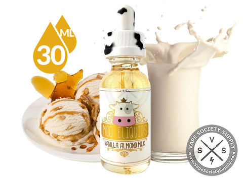 Vanilla Almond Milk by Moo E-Liquids 30ml