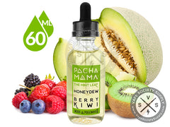 The Mint Leaf Honeydew Berry Kiwi by Pachamama EJuice 60ML