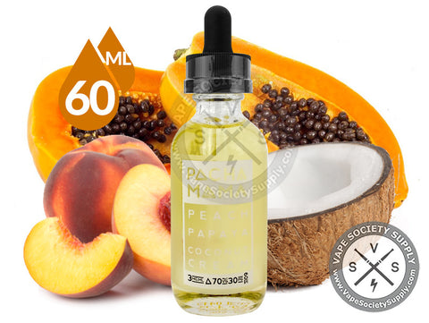Peach Papaya Coconut Cream Ejuice by PACHAMAMA 60ml