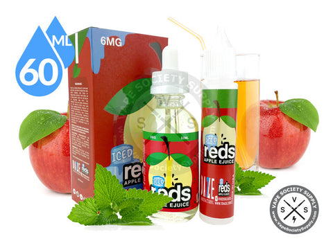 Iced Reds Apple E-Juice 60ml