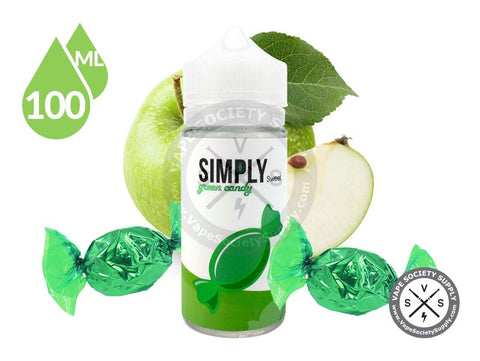 Green Apple Candy by Simply Sweet 100ml