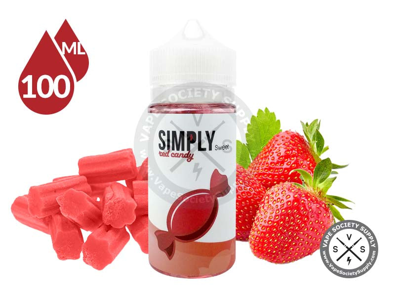 Red Candy by Simply Sweet 100ml
