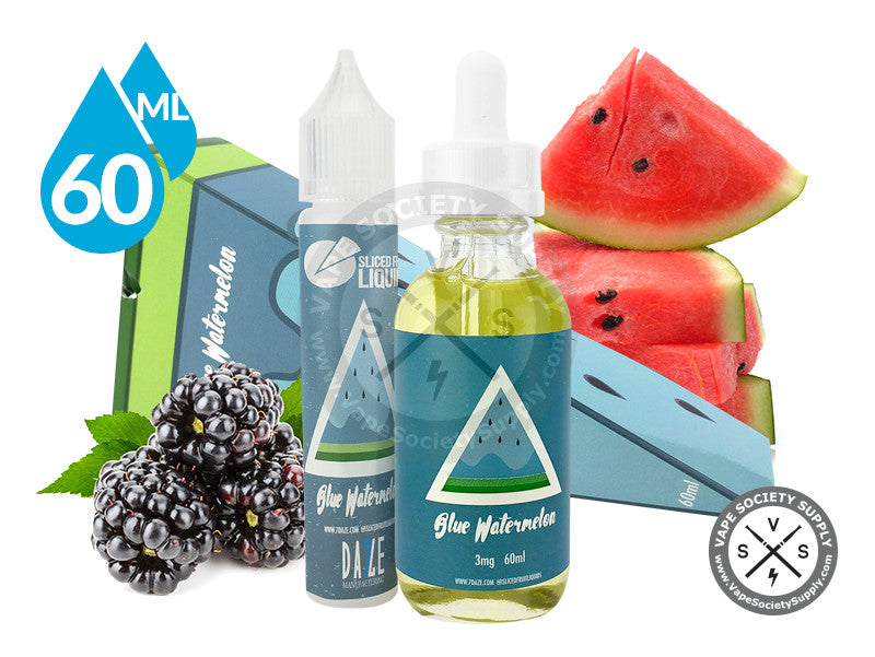 Blue Watermelon by Sliced Fruit Liquids 60ml