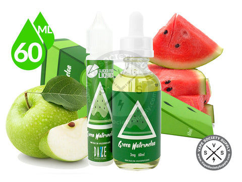 Green Watermelon by Sliced Fruit Liquids 60ml