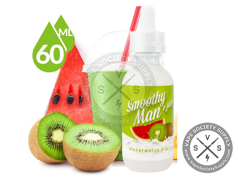 Watermelon Kiwi By Smoothy Man 60ml