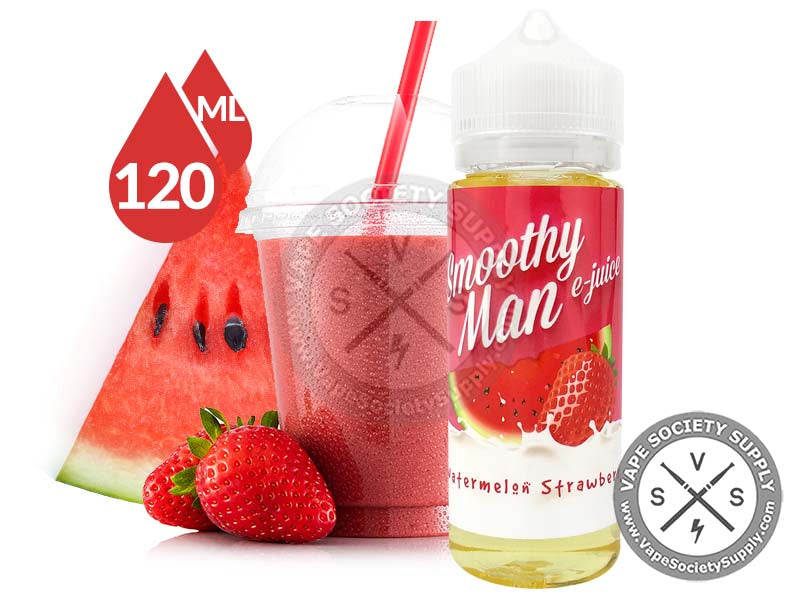 Watermelon Strawberry by Smoothy Man 120ml