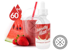 Watermelon Strawberry By Smoothy Man 60ml