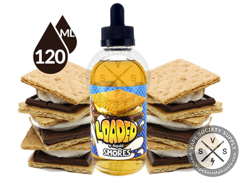 Smores Ejuice by Loaded E-Liquid 120ml