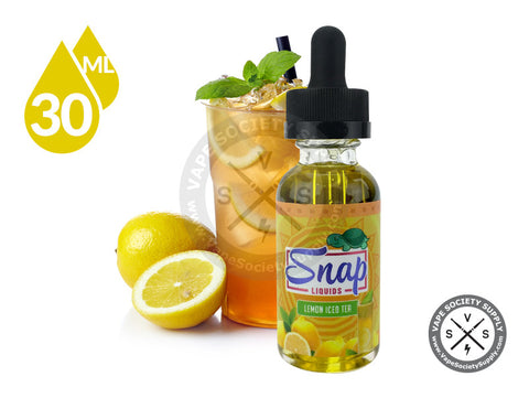 Lemon Iced Tea by Snap Liquids 30ml
