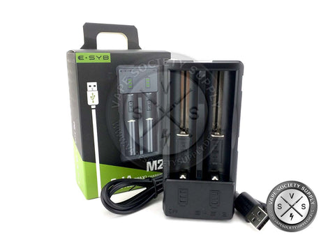 ESYB M2 Dual Bay Battery Charger