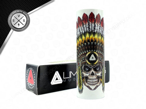Limitless Skull Chief Sleeve White