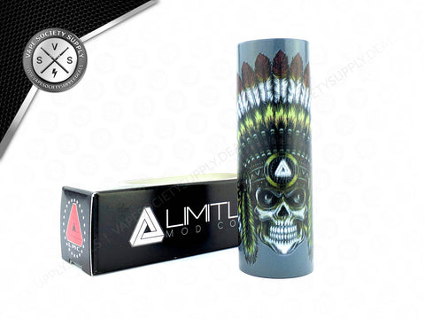 Limitless Skull Chief Sleeve Grey