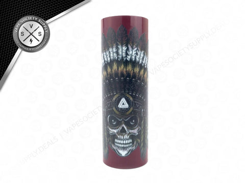 Limitless Skull Chief Sleeve Red
