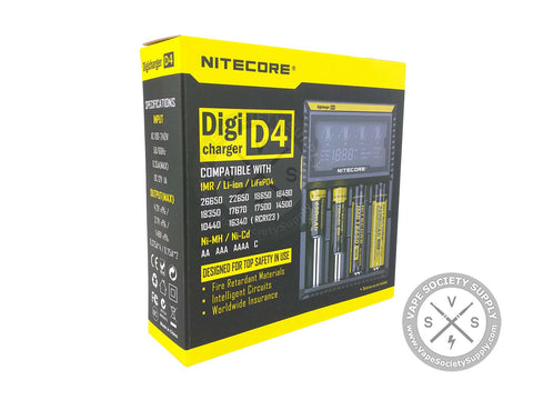 Nitecore D4 Battery Charger