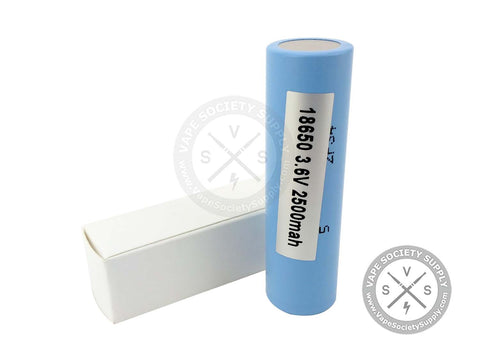 Samsung INR18650-25R 2500mAh Battery 25 AMP