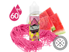 Watermelon Sour Straws by Bazooka Sour Straws 60ml