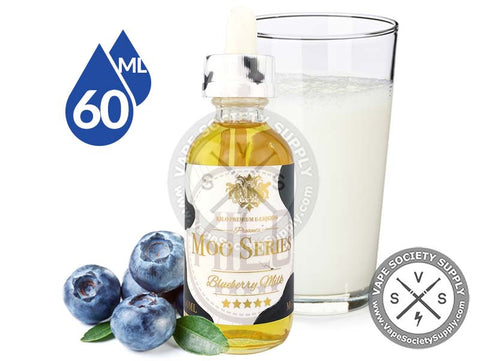 Blueberry Milk by Moo E-Liquids 60ml