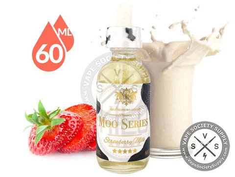 Strawberry Milk by Moo E-Liquids 60ml