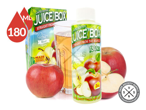 Juice Box Ejuice by One Mad Hit E-Liquids 180ml
