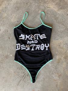 Skate and Destroy Bodysuit Small/Medium
