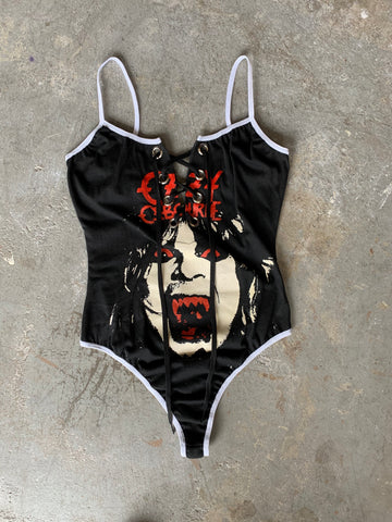 Lace-up Ozzy Bodysuit Small/Medium