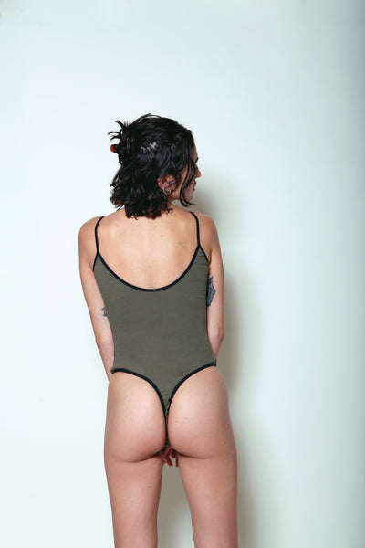 Lace-up Ripper Bodysuit Large/XL