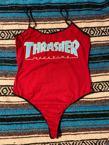 Thrasher Outline Bodysuit Small/Medium