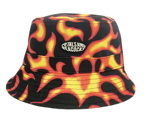 959932c7aa Flames Bucket Hat · Flames Bucket Hat · Flames Bucket Hat. Petals and  Peacocks