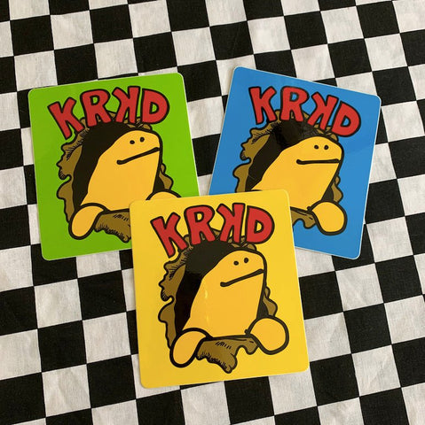 Krooked Stickers