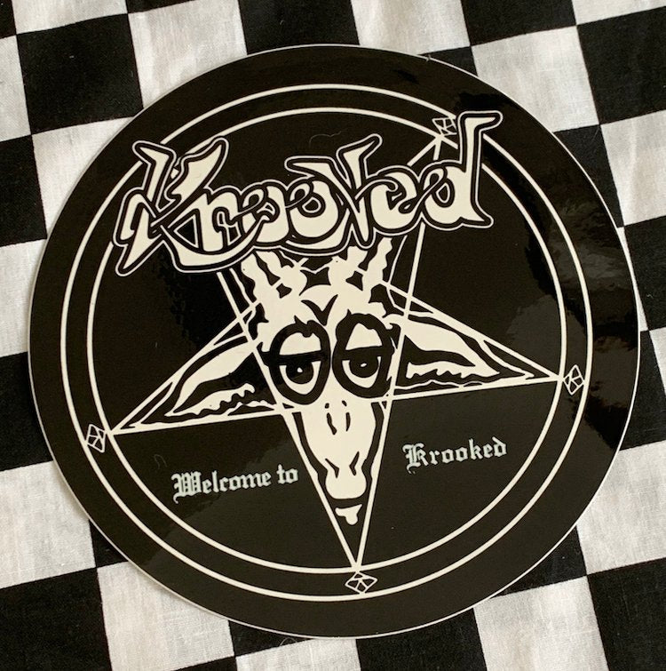 Krooked Sticker
