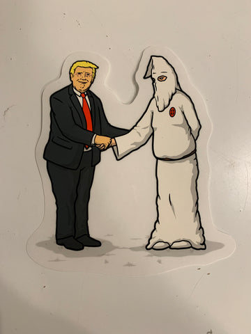 Trump KKK Sticker