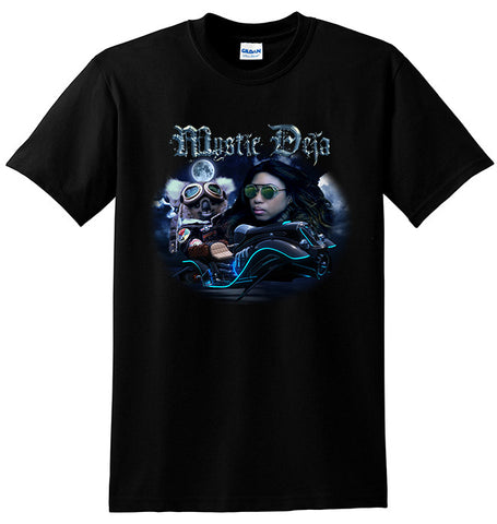 MYSTIC DEJA MAZE OF EXISTENCE BLACK T-SHIRT