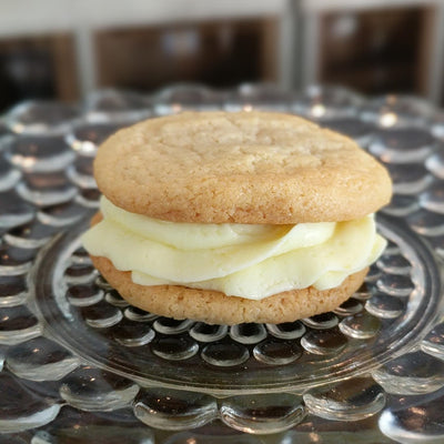 Cookie Sandwiches with Lemon Buttercream