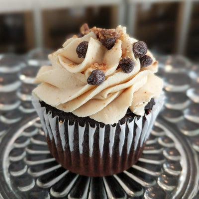Chocolate Cupcake with Peanut Butter Buttercream