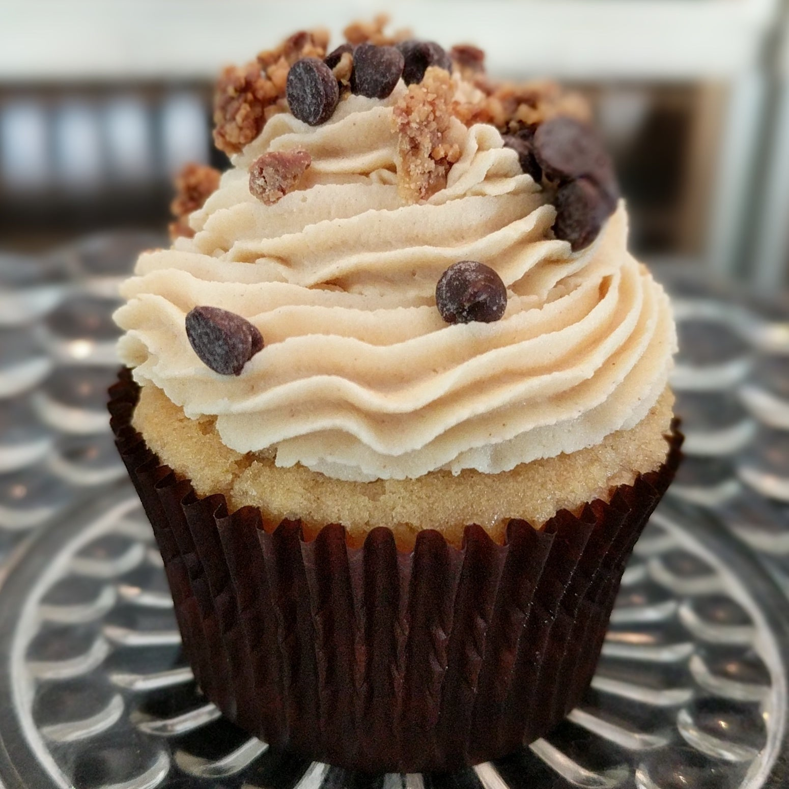 Peanut Butter Cupcake with Peanut Butter Buttercream