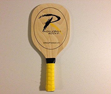 Wooden Pickleball Rocks Paddle