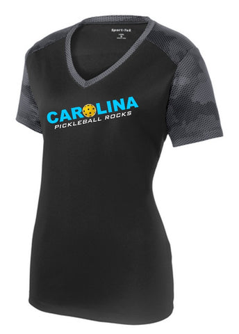 Pickleball Rocks in Carolina Short Sleeve Shirts