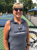 Unstoppable Pickleball - Ladies Ultra Lightweight Sleeveless Hoodie