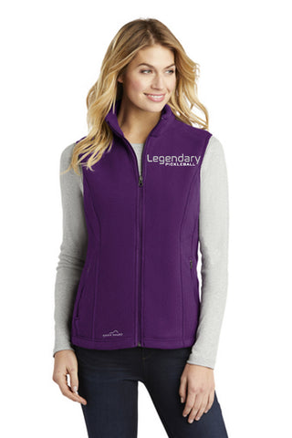 Legendary Womens Plush Eddie Bauer Model Vest - Blackberry