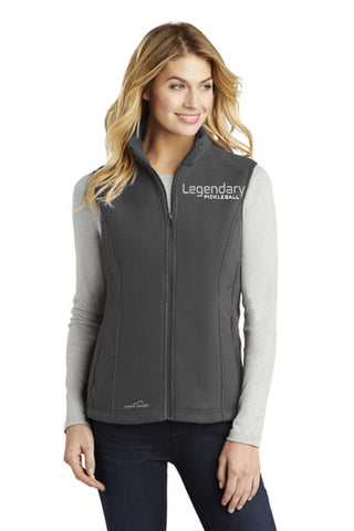 Legendary Womens Plush Eddie Bauer Model Vest - Steel Grey