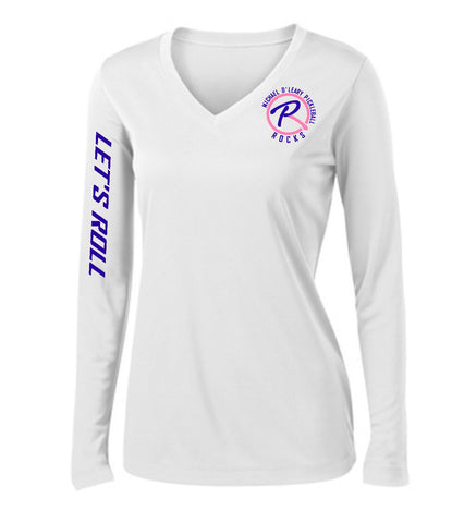 Let's Roll SPECIAL EDITION - Ladies White Long Sleeve