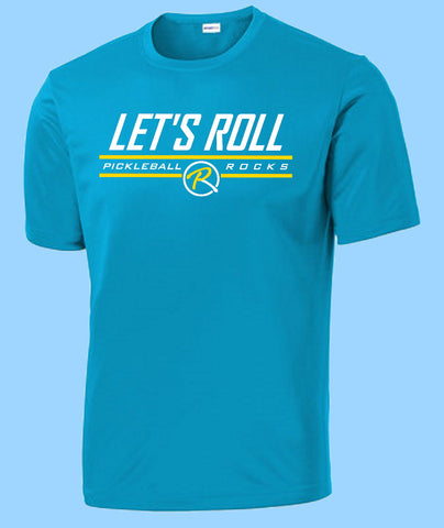 Let's Roll Mens Atomic Blue SS