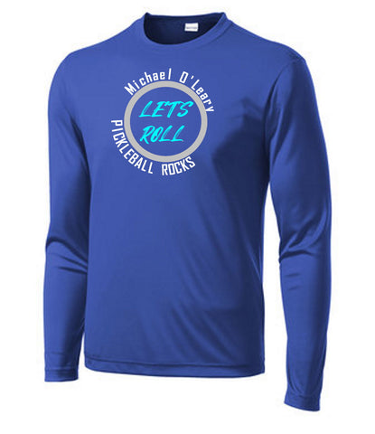 Let's Roll SPECIAL EDITION - Mens Royal Blue Long Sleeve