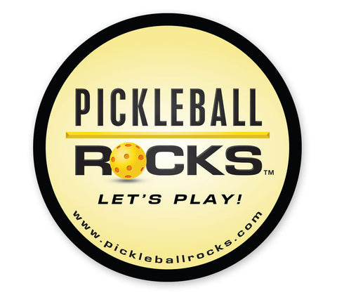 Pickleball Rocks Magnet