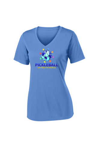 Uniting The World - Pickleballs In Orbit: Light Blue