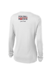 USA Pickleball White Long Sleeve Shirt with SUN PROTECTION!