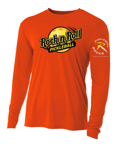 SPECIAL EDITION ORANGE ROCK N ROLL PICKLEBALL SHIRT
