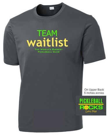 Team Waitlist Short Sleeve Dri Fit Shirts