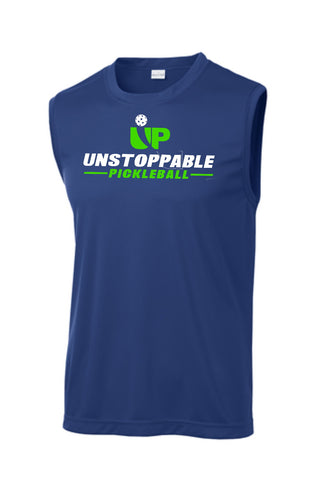 Unstoppable Pickleball - First Edition True Royal Blue Dri Fit Sleeveless Shirt