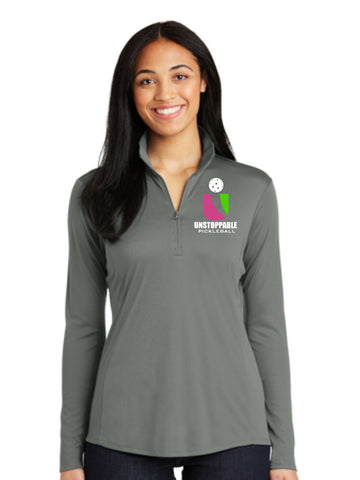 Unstoppable Pickleball - Ladies Ultra Lightweight Quarter Zip